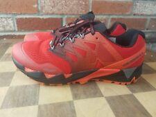 NEW Merrell Agility Peak Flex 2 E-Mesh Men's Size 9 Black/RED