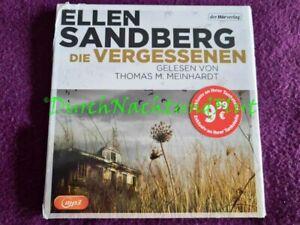 NEU MP3 HÖRBUCH KRIMI THRILLER | ELLEN SANDBERG | INGE LÖHNIG | DIE VERGESSENEN