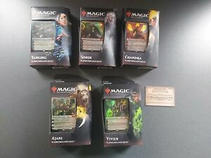 Planeswalker Decks - Set of 5 - Core 2020 - Magic the Gathering MTG - SEALED