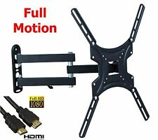 TV Wall Mount Articulating Bracket Full Motion 32-47 Inch LCD LED Flat Screen
