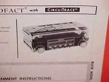 1967 BUICK SKYLARK GS 340 GRAN SPORT 400 CONVERTIBLE AM RADIO SERVICE MANUAL 67