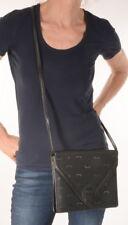 MCM bolso bolso de mano clutch vintage Bag logotipo crossover Black