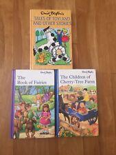 Enid Blyton Book of Fairies Children of Cherry Tree Farm Tales of Toyland HC