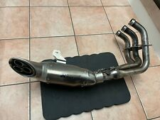 Yamaha MT09 2014-2020 Full Akrapovic Exhaust System Titanium Silencer XSR Tracer