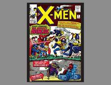 POSTER: THE X-MEN #9 (Jan. 1965) Marvel Comics COVER POSTER Vintage Reprint