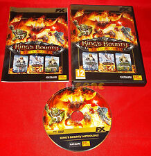 KING'S BOUNTY ANTHOLOGY Pc Kings Versione Ufficiale Italiana ○○○ COMPLETO - D5