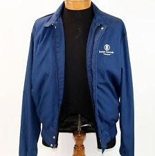 Boise Cascade Company Jacket Blue with White Lettering Size Medium