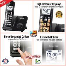 Panasonic Cordless Telephone Phone call-waiting caller ID Call Block 1 Handset