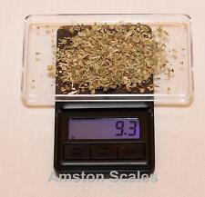 500 x 0.1 GRAM DIGITAL COMPACT POCKET SCALE GRAIN WEIGH GOLD SILVER CARAT OUNCE
