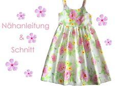 Schnitt+ Nähanleitung Kleid Lilly Gr.92-128 als Ebook