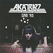 ALCATRAZZ Live 83 CD Hard Rock Heavy Metal Yngwie Malmsteen 2010