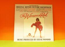 WOMAN IN RED - MOVIE SOUNDTRACK - STEVIE WONDER - MOTOWN 1984 EX VINYL LP RECORD