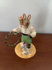 """royal doulton bunnykins figurines """"Tino The Trixstar� 2005"""