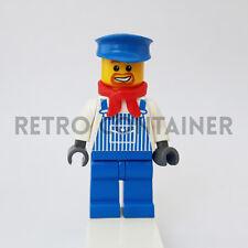 LEGO Minifigures - 1x trn076 - Engineer Max - Trains Omino Minifig 4186875 10133