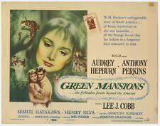 GREEN MANSIONS original film / movie poster (lobby card) - Audrey Hepburn