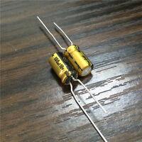 10pcs 100uF 10V 6.3x11mm Nichicon FG (Fine Gold) 10V100uF HiFi Audio Capacitor