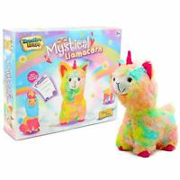 KreativeKraft Mystical Llamacorn Rainbow Unicorn Llama Girls Gift Super Soft