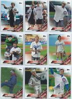 2016 Topps Update Series First Pitch Insert You Pick the Player Finish Your Set