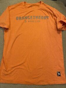Mens Orange Theory Fitness Gym Shirt Medium M