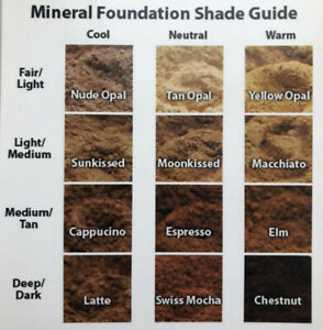 Mineral Makeup Loose Powder Foundation 12 Shades 4oz Each Wholesale For Resell