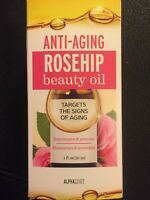 Alphalight  Rosehip Anti-Aging Beauty Oil Target The Signs Of Aging NEW