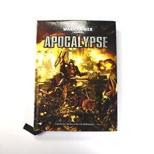 WARHAMMER 40K Apocalypse rulebook Hardcover Good condition book