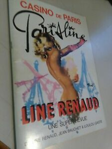 LIBRO: LIBRO: CASINO DE PARIS - PARIS LINE - LINE RENAUD - J.BAUCHET & L.GASTE
