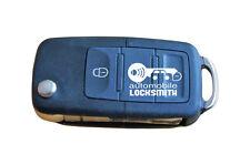 used Skoda Octavia Fabia Superb 3 button flip remote key fob HL0 1J0 959 753 DA