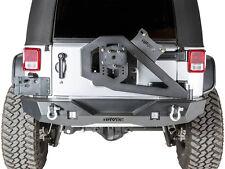 Havoc Offroad GEN 2 Aftershock Jeep JK Wrangler Rear Bumper w/  Tire Carrier