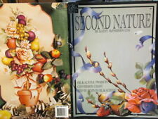 Second Nature Painting Book-McPherson-Christmas Horns, Lantern/Topiary/Fruit/Flo