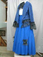 Victorian Dress Women's Edwardian Costume Civel War Style Reenactment Large