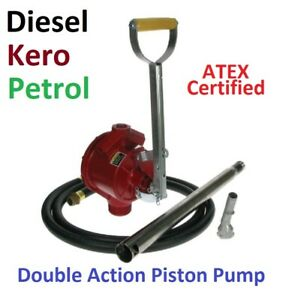 PISTON HAND PUMP - HIGH CAPACITY - FOR PETROL AND DIESEL - **KIT**