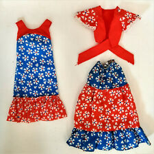 BarbieBest Buy 2x Outfit  #2219 + #2227 70er Vintage Mattel TOP