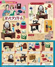 Re-Ment Miniature Modern Girl Full set of 8 pcs