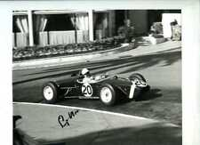 Stirling Moss Lotus 18 Winner Monaco Grand Prix 1961 Signed Photograph 1