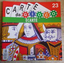Fabbri editore serie carte da gioco n.23 ECARTE'
