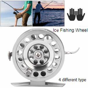 50-60 Saltwater Ice Spinning Reels High Speed Full Metal Ice Fishing Reel Tackle