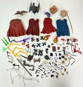 Marvel Legends DC Universe Direct LOT of Capes and Accessories for Customizers