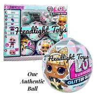 1 LOL Surprise Doll Winter Disco Series Glitter Globe Ball Holiday OMG Preorder