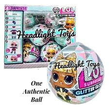1 LOL Surprise Doll Winter Disco Series Glitter Globe Ball Holiday OMG Preorder