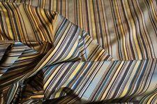 "Aesop stripe woven decorator stripe in "" ""Twilight"" by Bravo Fabrics"