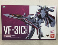 DX Chogokin Macross Delta VF-31C Siegfried Mirage Farina Genus Figure Bandai