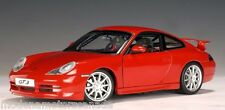 1999 PORSCHE 911 CARRERA GT3 (996) RED by AUTOART 1:18  BRAND NEW IN BAD BOX