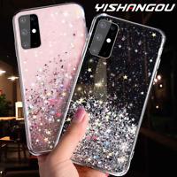Huawei P30 LITE P30 PRO Bling Glitter Clear Gel Soft Phone Case Cover