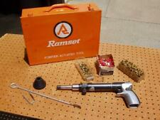 Olin Ramset Fastening Tool Powder Actuated 4160 Mk Ii Good Condition + Case