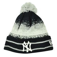 MLB New Era Spec Blend New York Yankees Cuffed Pom Pom Knit Beanie Hat Toque