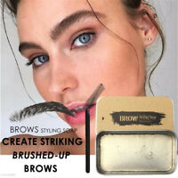 3D Feathery Brows Makeup Gel Waterproof Soap Brows Kit Long Lasting Eyebrow Set