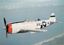REPUBLIC P-47D THUNDERBOLT-SINGLE SEAT FIGHTER BOMBER~AIRCRAFT POSTCARD