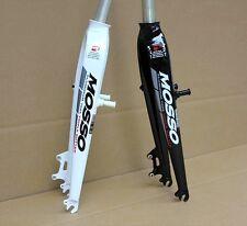 "Aluminum 26"" MTB Rigid Fork V Disc Brake 1 1/8"" 28.6mm MOSSO Md5 Black"