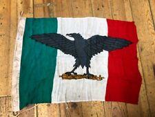 SUPERB ORIGINAL WW2 ITALIAN 1944 DATED FLAG